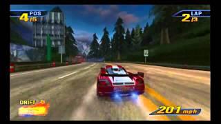 Burnout 3- Online racing 2008 HD 60 FPS