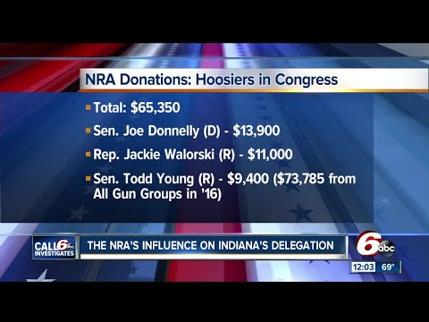 A look at the influence of the National Rifle Association on Indiana