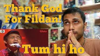 Fildan - Tum hi ho (Bau Bau)   Indian's Reaction