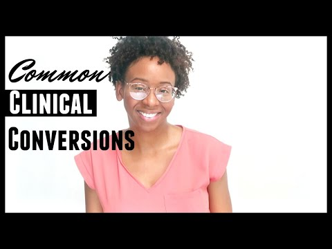 COMMON NUTRITION CONVERSIONS FOR CLINICAL PRACTICE