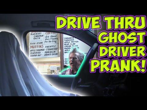Drive Thru Ghost Driver Prank! (Non 360 Video)