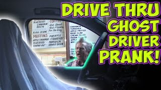 Drive Thru Ghost Driver Prank! (Non 360 Video)