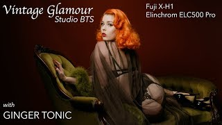 Vintage Glamour with Ginger Tonic and Elinchrom Lighting
