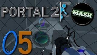 "Portal 2 ""Custom Maps"" [60fps] - mit MASH-MAve #05 -Let"