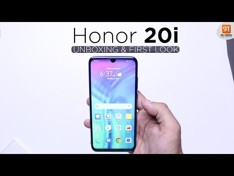 Honor 20i: Unboxing | Hands on | Price Rs 14,999 [Hindi हिन्दी]
