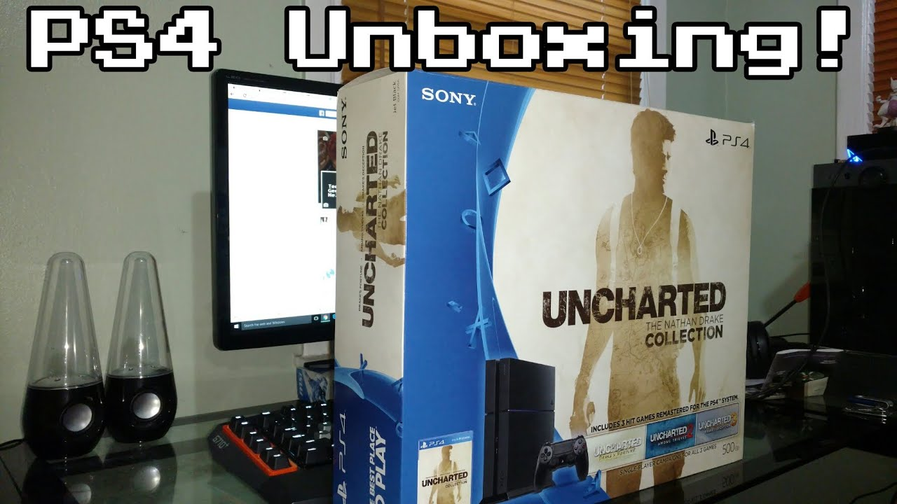 Unboxing Ps4 Nathan Drake Collection Bundle