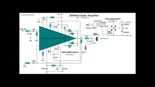 100W SUBWOOFER AMPLIFIER CIRCUITS