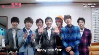[ENG SUB] 2014 HAPPY NEW YEAR INSPIRIT Greeting - INFINITE by: @__cheonsanim
