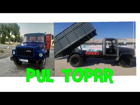Yangi yupiska GAZ 53 lar. pul topar moshinlar 14.06.2020