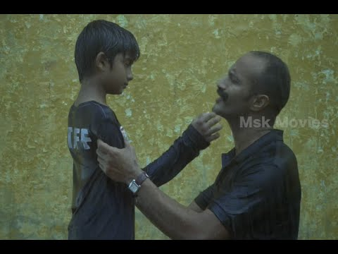 Kishore As A Sorry Father For Not Sparing Time To His Son - Haridas Tamil Movie Scene