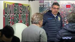 ONTV LIVE: Conferenza Sandro Pochesci pre Palermo-Ternana U. thumbnail