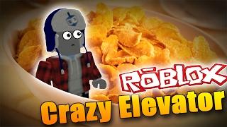 ZABILY M' CORNFLAKY?! - Roblox El ascensor loco!