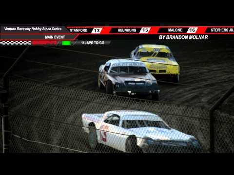 Ventura Raceway Hobby Stock Main Event 6/7/14 HD (Following 74 R.Dinger)