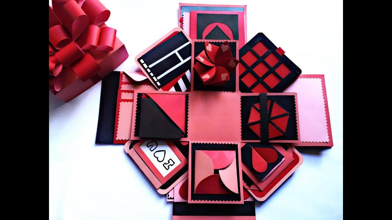 Lm Hp Qu Tnh Yu Thn K Love Box Hp Qu Handmade