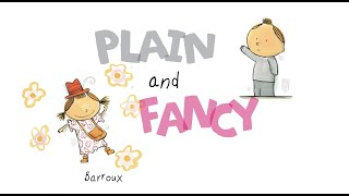 Lucy Capri: PLAIN AND FANCY Animated Story Book Preview (C) VOOKS