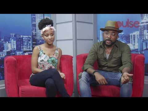 Banky W, Adesua Etomi Talks About Their Chemistry in 'The Wedding Party'  Pulse TV