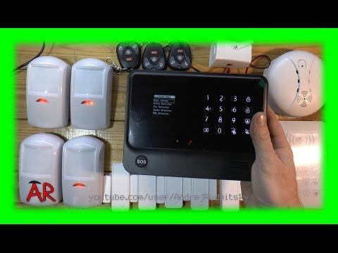 Wi-Fi - GSM Охранная Сигнализация G90B ( настройка, обзор и тестирование )