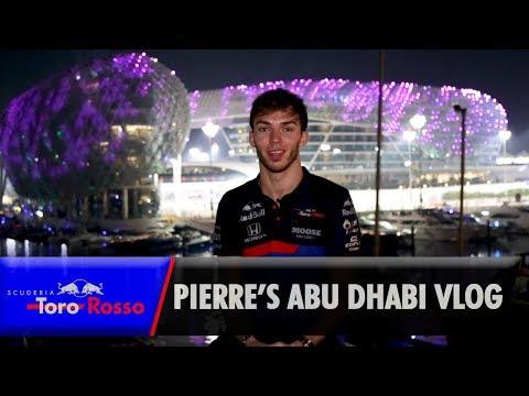 Pierre Gasly's Abu Dhabi GP Vlog