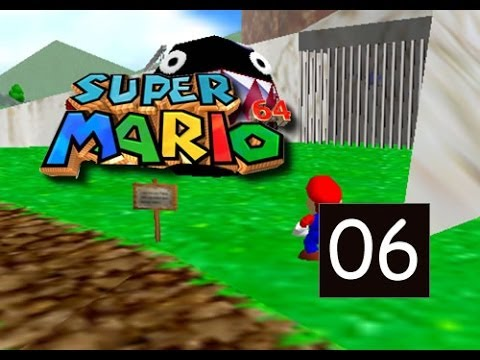 Super Mario 64 - Behind Chain Chomps Gate - 6/120