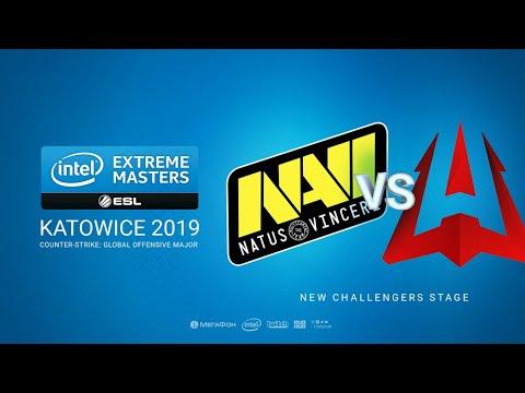 Na`Vi vs AVANGAR - IEM Season XIII - Katowice Major 2019 - map1 - de_dust2 [sl4m & tafa]