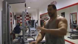 Упражнения для широчайших мышц спины (часть 3)(Программа тренировок от Тимура