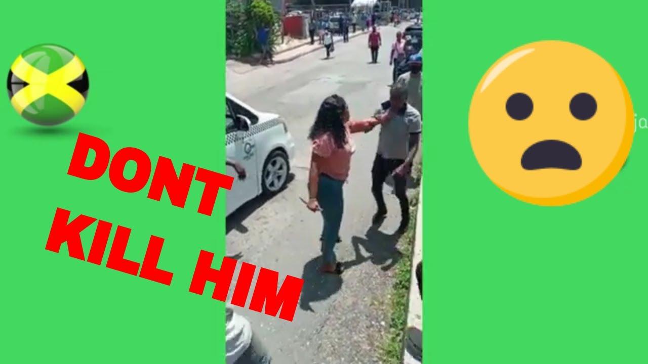 Download Jamaican Woman Stabs Man in Willogate Mandeville, Jamaica | Jamaican News