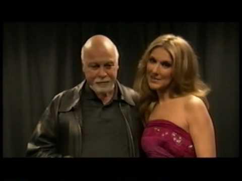 Celine Dion & René Angélil  -  Hommage à Raymond Berthiaume