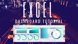 How To Design Customised Data Dashboard in Microsoft Excel | Easy to Learn Excel Tutorial