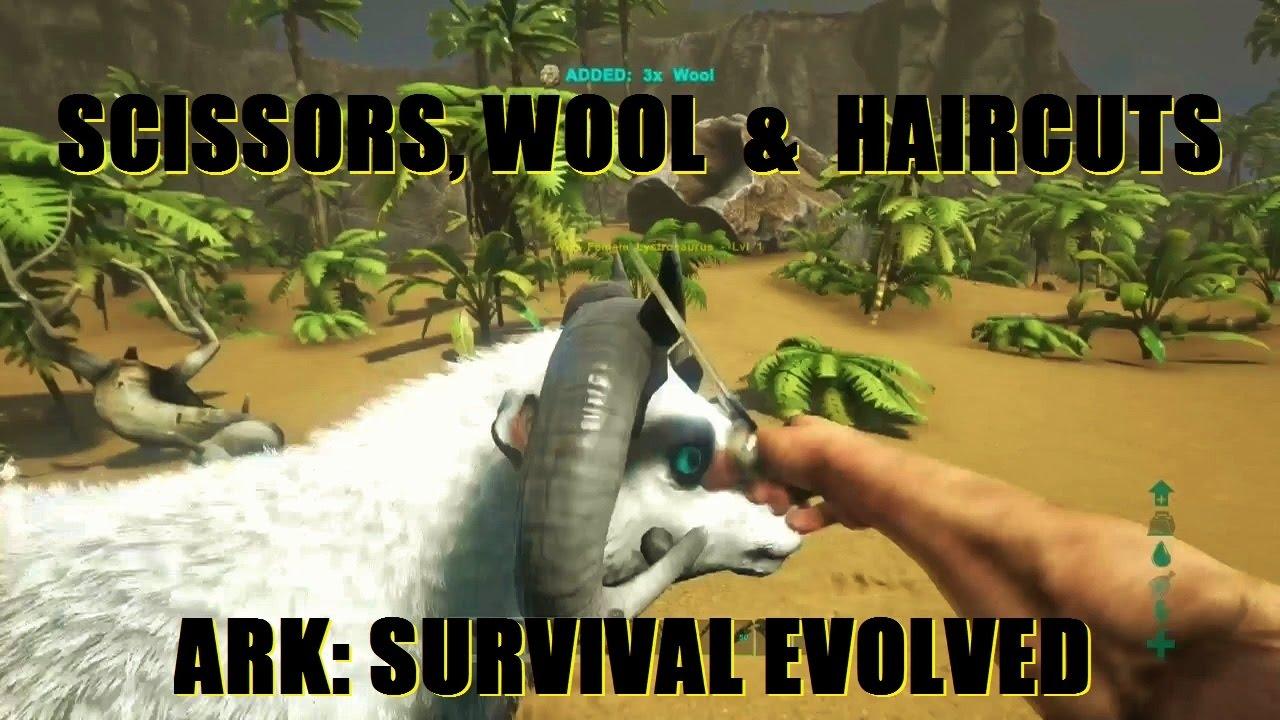 ARK: Survival Evolved   Scissors, Wool & Haircut's  - Самые
