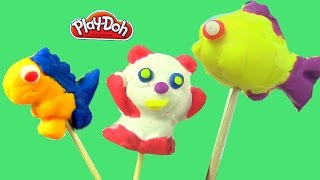 Đồ Chơi Đất Nặn Play-doh ! Chị Bí Đỏ Làm Kem Que Hình Động Vật Ngộ Nghĩnh Khủng Long Rùa Tê Giác