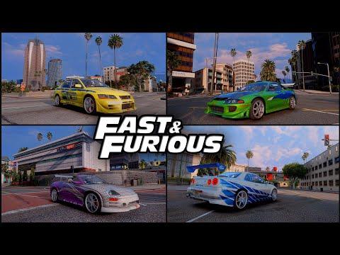 КАК УСТАНОВИТЬ ПАК МАШИН В GTA 5 // The Fast And The Furious Cars Pack // ПАК МАШИН ИЗ ФОРСАЖА ГТА 5