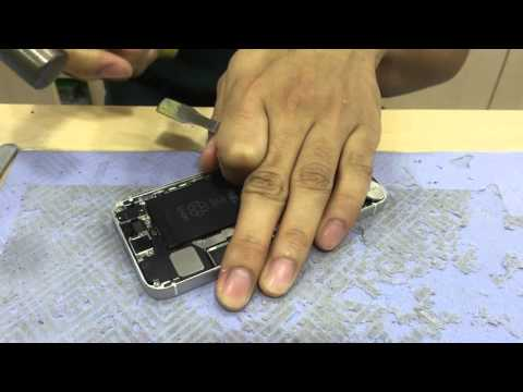 Cara ketok magic casing iPhone 5 5s yg penyok