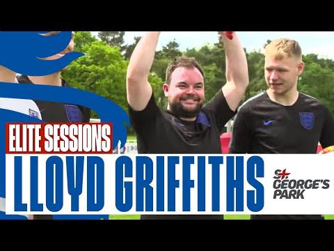 England Elite Sessions - Lloyd Griffith GK Training | Episode 1