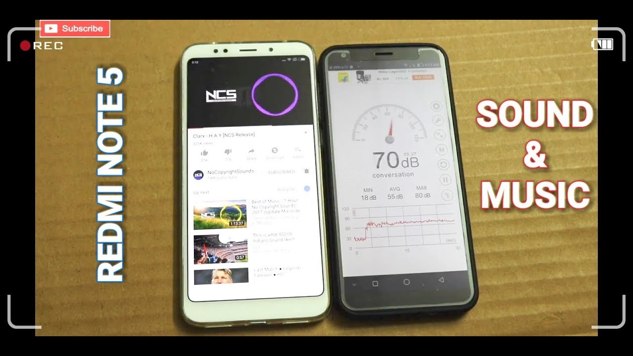 #Hindi - Redmi Note 5 - Sound Test | Music Test | Speaker Test | Volume  Test | Hindi