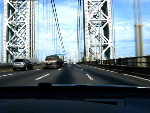 George Washington Bridge Manhattan New York In M3 BMW