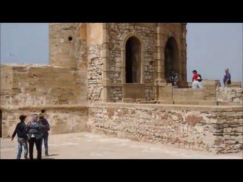Skala Castel in Essaouira, Morocco | Travel video