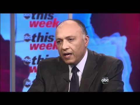 Amb. Sameh Shoukry Egyptian Ambassador to US Updates Amanpour 2/13/2011