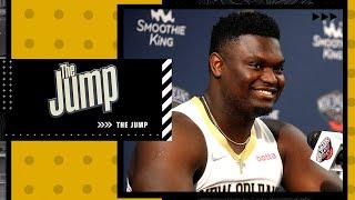 Andrew Lopez on the latest around Zion Williamson's broken foot | The Jump