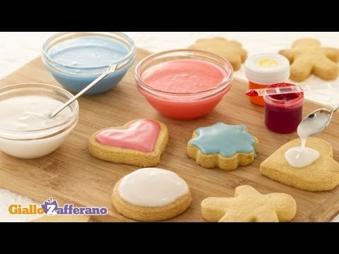 Glace icing  cooking tutorial