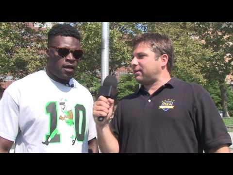 Kenbrell Thompkins New York Jets Youth Football Camp