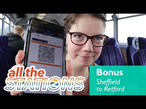 Mobile Ticketing - Bonus Video - Day 75 - Sheffield To Retford