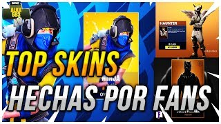 TOP BESTE SKINS MADE VON FANS FÜR FORTNITE BATTLE ROYALE