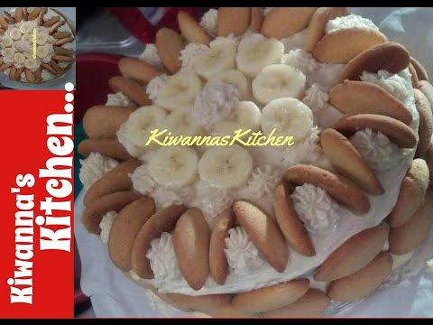 Banana Pudding/Banana Cake {Banana Pudding Banana Cake Recipe} *Kiwanna's Kitchen*