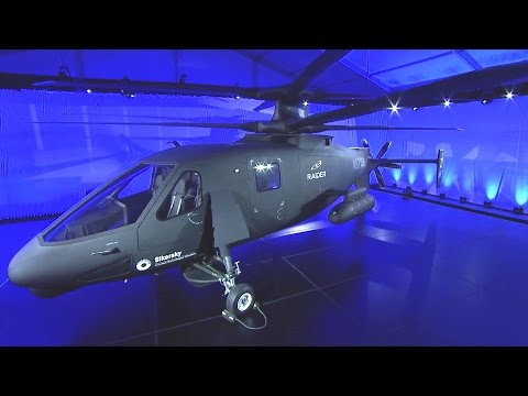 Sikorsky - S-97 Raider Multi-Role Attack Helicopter Unveiled [1080p]