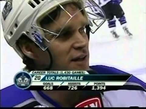 Luc Robitaille's Last Game & Tribute