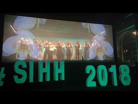 Perpetuum Jazzile at the SIHH 2018 performing Africa (Toto)