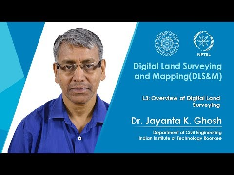 Overview of Digital Land Surveying