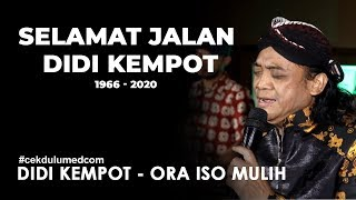 Didi Kempot - Ora Iso Mulih (Pegadaian Covid-19 Charity Concert)