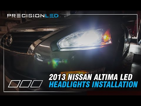 Nissan Altima LED Headlights How To Install – 2013-Present