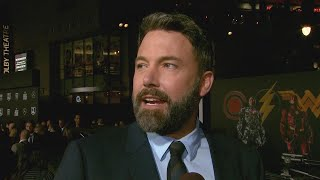 Ben Affleck on Flying Solo and Sober to